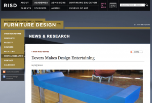RISD Devers Furniture